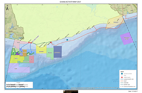 OFFSHORE ACTIVITY MAP