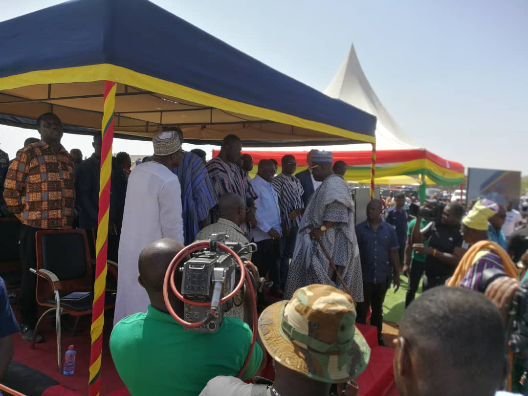 President Cuts Sod for the Construction of 17MW Solar Power Project In Lawra-Kaleo